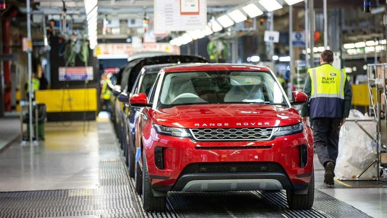 Выпуск автомобилей в Великобритании существенно снизился